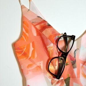 6059ca24 Black Halo Dresses - Black Halo Jevette Floral Mini Sheath Dress